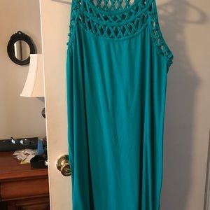Tops - Roamans Tunic Blue Green color size 14/16